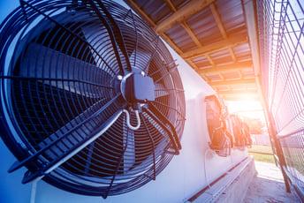 HVAC Unit In Sun